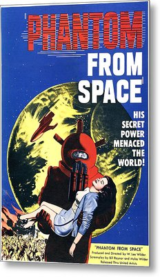 Phantom From Space, Noreen Nash, 1953 Metal Print by Everett