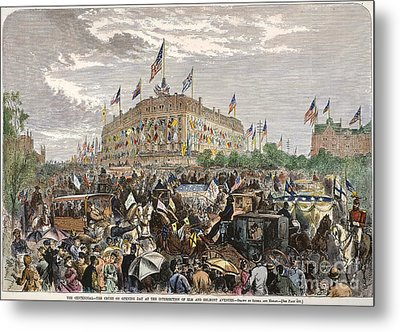 Philadelphia Expo, 1876 Metal Print by Granger