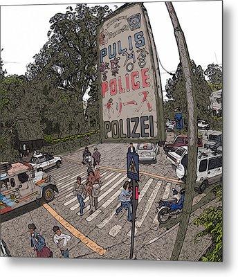 Philippines 3653 Pulis Metal Print by Rolf Bertram