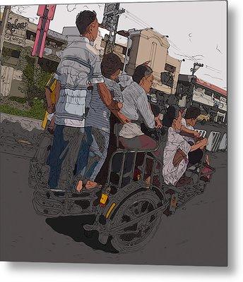 Philippines 5534 Pamilya Metal Print by Rolf Bertram