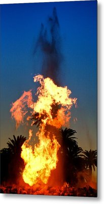 Metal Print featuring the photograph Phoenix Rising by Joe Urbz