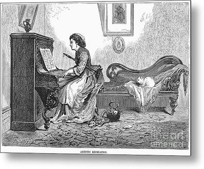 Pianist, 1876 Metal Print by Granger
