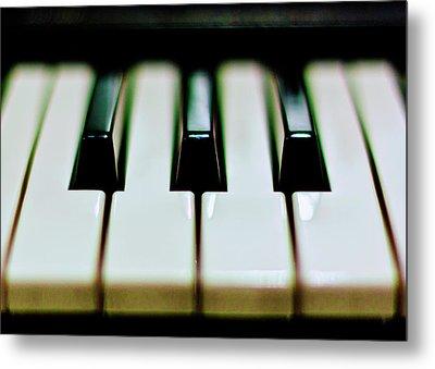 Piano Keys Metal Print by Calvert Byam