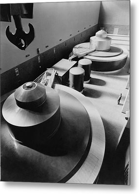 Pickwick Dams First Turbine Generators Metal Print by Everett