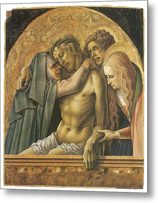 Pieta Metal Print by Carlo Crivelli