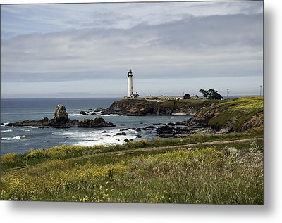 Metal Print featuring the photograph Pigeon Point Light Station by Paul Plaine