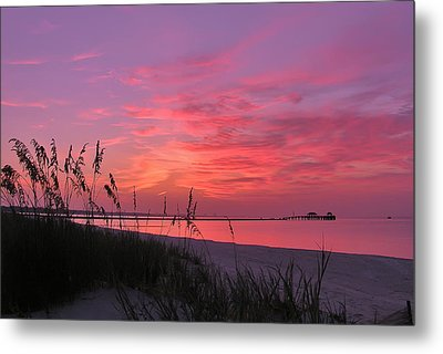 Pink And Purple Dawn Metal Print by Brian Wright