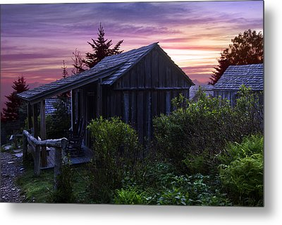 Pink Dawn Metal Print by Debra and Dave Vanderlaan