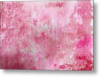 Pink Lady Metal Print by Christopher Gaston