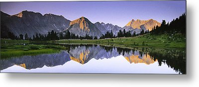 Pioneer Basin Morning Panorama Metal Print by Buck Forester
