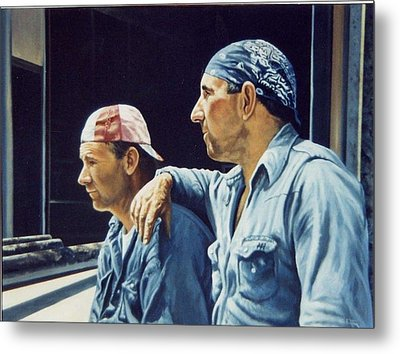 Pipefitters Metal Print by James Guentner