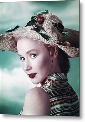 Piper Laurie, Ca. Early 1950s Metal Print by Everett