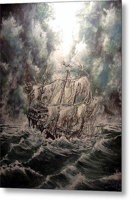 Pirate Islands 2 Metal Print by Robert Tarrant
