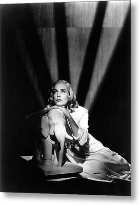Pitfall, Lizabeth Scott, 1948 Metal Print by Everett