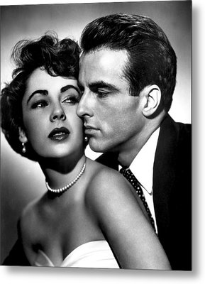 Place In The Sun, Elizabeth Taylor Metal Print by Everett