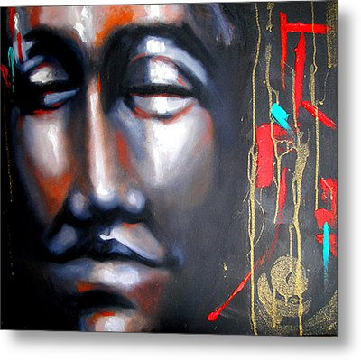 Places Of Peace-fond Thoughts Metal Print by Susi Franco