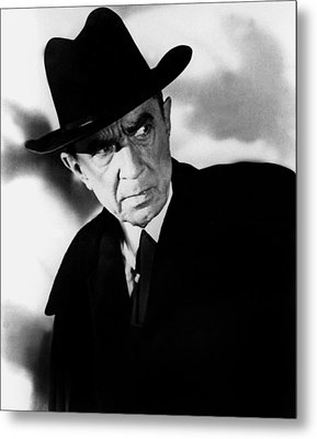 Plan 9 From Outer Space, Bela Lugosi Metal Print by Everett