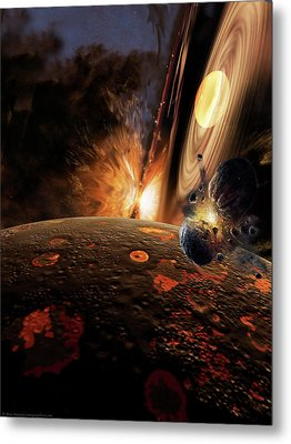 Planet Formation Metal Print by Don Dixon