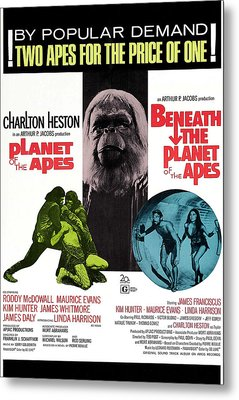 Planet Of The Apes, 1968 Metal Print by Everett