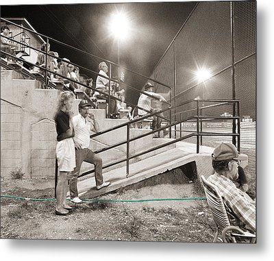 Play Ball Metal Print by Jan W Faul