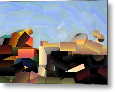 Playground Metal Print by Donna G Smith