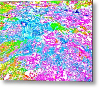 Poetic Brook 89 Metal Print
