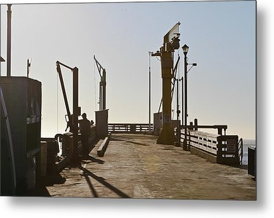 Point Arena Cove Pier Metal Print