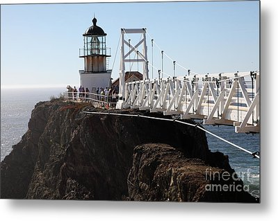 Point Bonita Lighthouse In The Marin Headlands - 5d19671 Metal Print