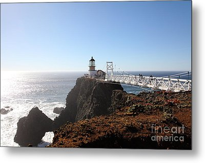 Point Bonita Lighthouse In The Marin Headlands - 5d19700 Metal Print