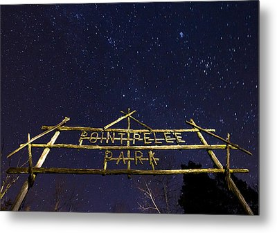 Point Pelee Under The Stars Metal Print by Cale Best