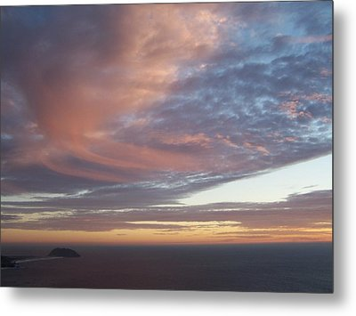Metal Print featuring the photograph Point Sur by Christine Drake
