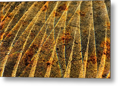 Points Of Light Metal Print