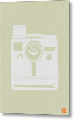 Polaroid Camera 3 Metal Print by Naxart Studio