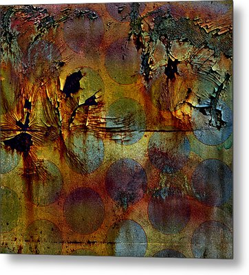 Polluted Circus Metal Print by Empty Wall
