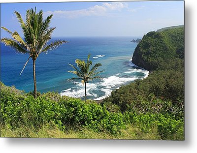 Metal Print featuring the photograph Pololu Valley by Scott Rackers