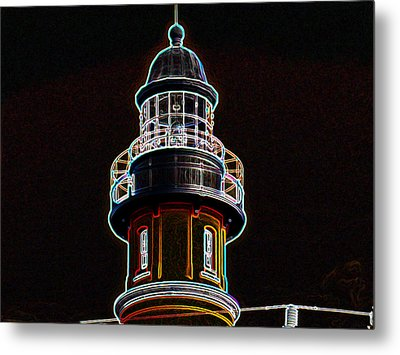 Ponce Inlet Lighthouse Metal Print by Dennis Dugan