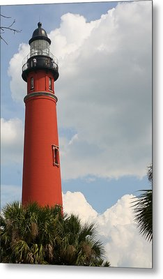 Ponce Inlet Lighthouse II Metal Print