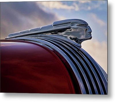 Pontiac Chief Metal Print