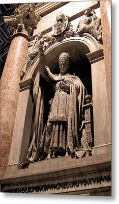 Pope Leo Xii At The Vatican Metal Print