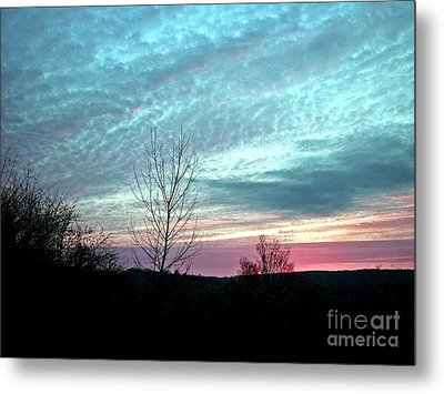 Porcelain Sky Metal Print by Christian Mattison