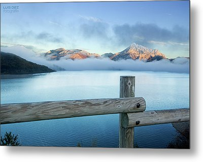 Porma Reservoir Metal Print by Lmdm43