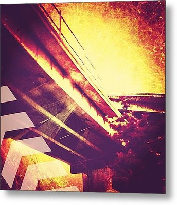 Portland #iphoneonly #iphone Metal Print by Johnathan Dahl