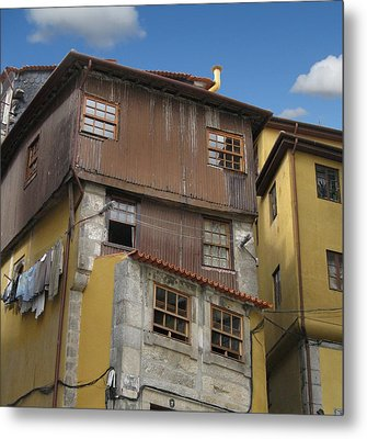 Porto By Day Metal Print