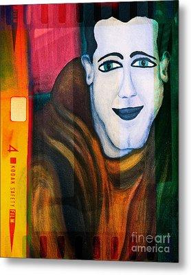 Portrait Of A Man 3 Metal Print by Emilio Lovisa
