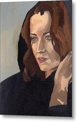 Portrait Of Becca 2 Metal Print