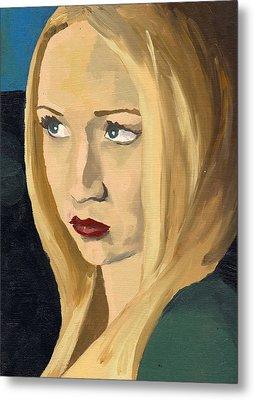 Portrait Of Emily Metal Print