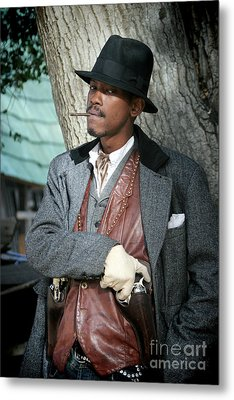 Portrait Of Kurupt Metal Print
