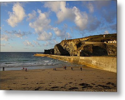 Portreath Beach Metal Print