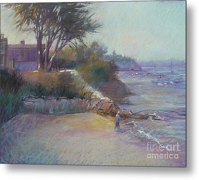 Portsea Evening Metal Print by Pamela Pretty
