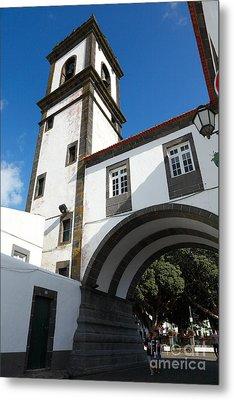 Portuguese Architecture Metal Print by Gaspar Avila